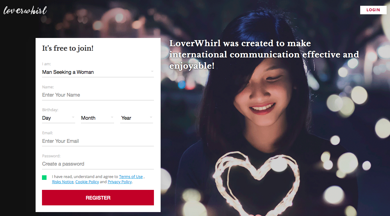 main page LoverWhirl.com
